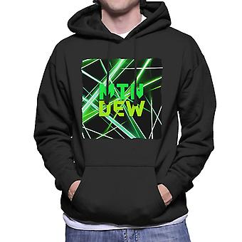 Mountain Dew Laser Men's Hooded Sweatshirt