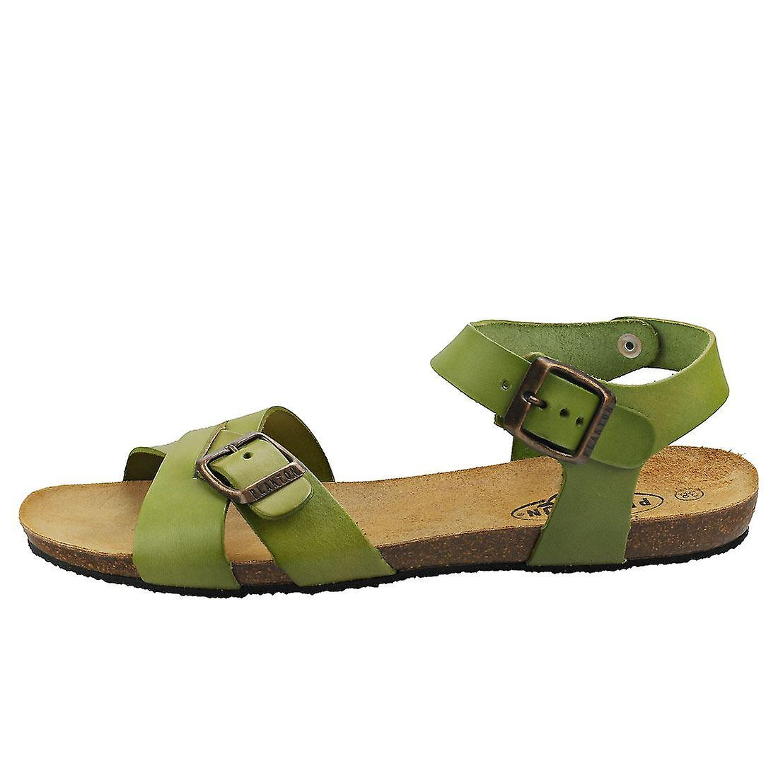 Plakton Zsa-zsa Vintage Womens Walking Sandals in Green