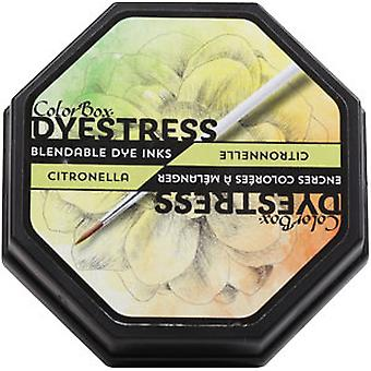 Clearsnap Colorbox Dyestress Mischbare Farbstoff Tinte voller Größe Citronella