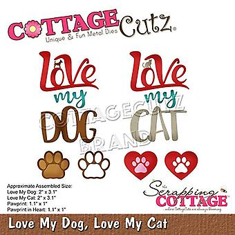 Scrapping Cottage Love My Dog, Love My Cat