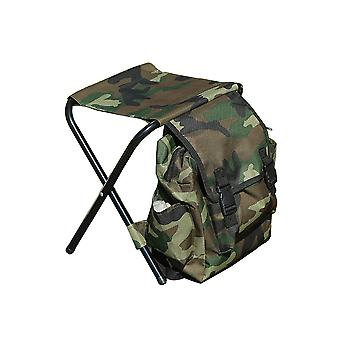 Homemiyn Backpack Outdoor Portable Camouflage Folding Stool
