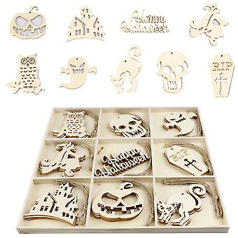 YANGFAN Home Decor Creative Handmade Wooden  Holiday Pendant Wall Hanging