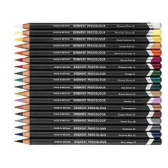 Derwent Procolour Professional Quality Colour Pencil 24 Tin