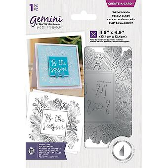 Gemini 'Tis the Season Create A Card Foil Stamp Die