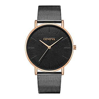 Geneva Luxury Ladies Watch - Anologue Movement Mesh Strap for Women