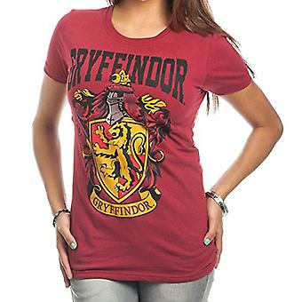 HARRY POTTER Gryffindor Crest fed pige Juniors T-shirt (M)