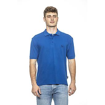 Royal fitted men's polo t-shirt