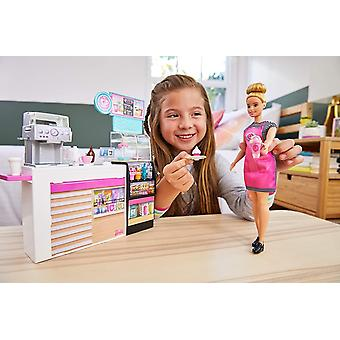 Barbie Coffee Shop with Doll