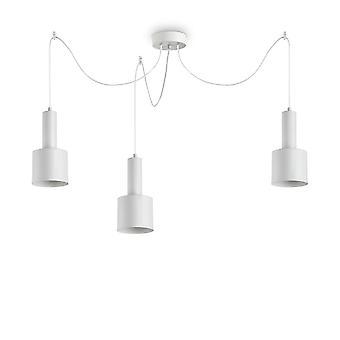 Ideal Lux HOLLY - Indoor Deckenleuchte 3 Leuchten weiß, E27
