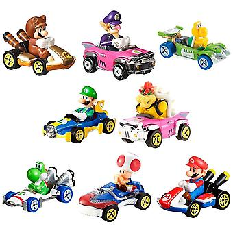 2-Pack Hot Wheels Mario Kart Racers Unsorted 1:64 Cars Metal