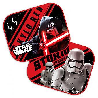 zonneschermen Star Wars First Order 44 x 35 cm 2 stuks