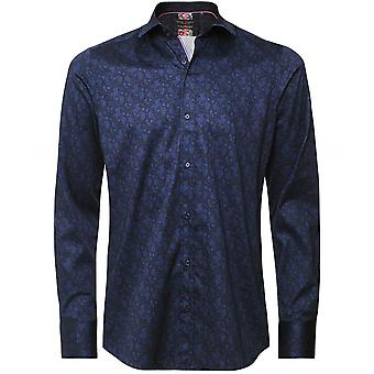 Guide London Slim Fit Paisley Shirt