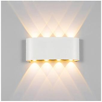 Led Aluminum Outdoor Indoor Ip65 Up Down Modern Wall Lamp For Home Stairs