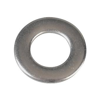 Forgefix Flat Washers DIN125 A2 Stainless Steel M8 Forge Pack 30 FORFPWAS8S