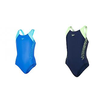 Speedo Girls Boom Splice Muscleback One Piece Badpak