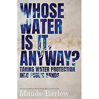 Wiens water is het, hoe dan ook?: Het nemen van waterbescherming in openbare handen