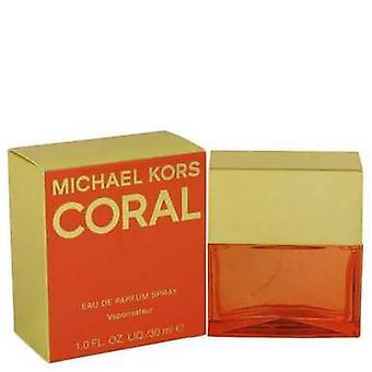Michael Kors Coral prin Michael Kors EAU de Parfum Spray 1 oz (femei) V728-539895
