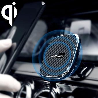 NILLKIN billim baseholder 10W hurtiglading Qi magnetisk trådløs lader, for iPhone 8 / 8 Plus / X (Svart)