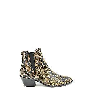 Tod's Ezbc025161 Women's Multicolor Leather Ankle Boots
