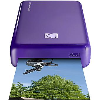 Kodak mini 2 hd bezdrôtová mobilná okamžitá fototlačiarňa s patentovanou tlačiarenou technológiou 4pass, compa wom95913