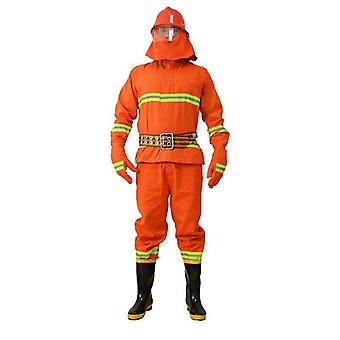 Breathable Thermal Radiation Fireman Suit, Heat Resistant Safety Clothing