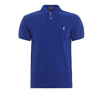 Polo Ralph Lauren Royal Slim Fit Polo Shirt 710536856085