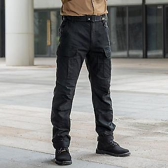 Men's Cargo Casual Pants Combat Army Military Work Cotton Trousers