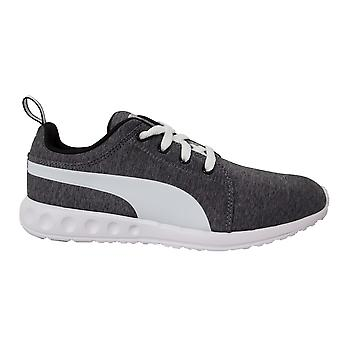 Puma Mens Carson Runner Heather Grey Lace-Up Running Trainers 188485 02