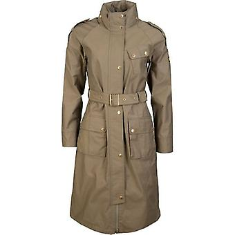 Barbour International Qualify Trench Style Belted Jacket