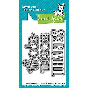 Lawn Fawn Thanks Thanks Thanks Dies