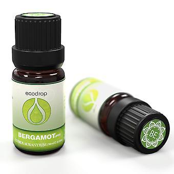 Bergamot essential oil, (fcf), 100% pure, therapeutic grade for aromatherapy, 10ml, free e-book (cit