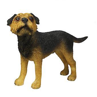 Border Terrier Figurine By Lesser & Pavey