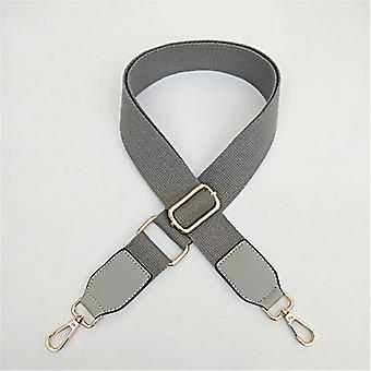 Pu Cuero Largo Ajustable Cinturón inclinado de un solo hombro