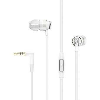 CX 300S Ear-Canal Headphone with Universal Smart Remote - White