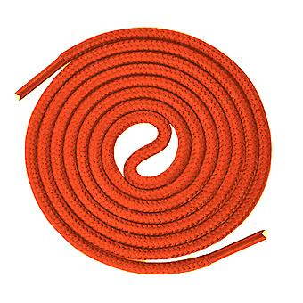 Orange Round Sport Trainer Shoelaces