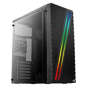 ATX Semi-tower Box Aerocool STREAK RGB USB 3.0 Black