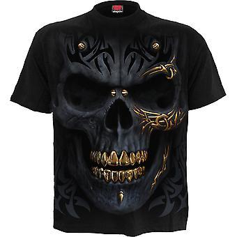 Svart guld T-Shirt Svart