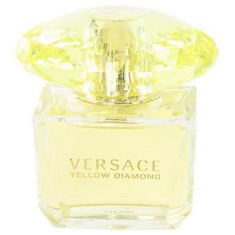 Versace gul diamant Eau De Toilette Spray (Tester) av Versace 3 oz Eau De Toilette Spray