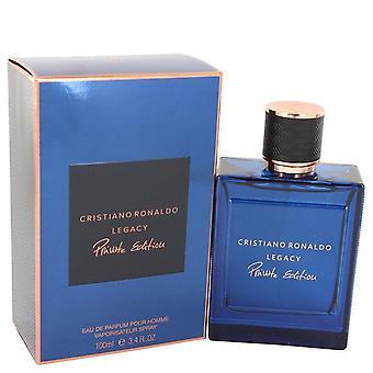 Cristiano Ronaldo Legacy Private Edition Eau De Parfum Spray By Cristiano Ronaldo 3.4 oz Eau De Parfum Spray