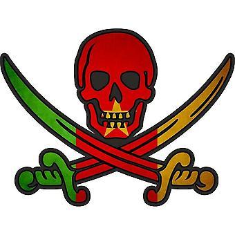ملصق ملصق القراصنة جاك rackham calico العلم الكاميرون الكاميرون البلد