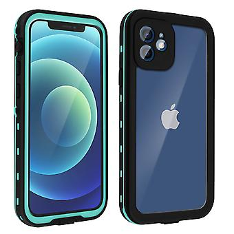 Protective Case for Apple iPhone 12/12 Pro Waterproof Screen protector green