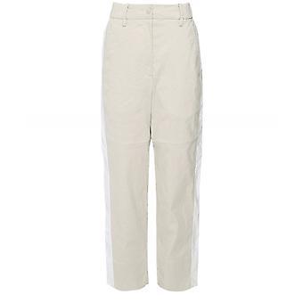 Annette Gortz Cora Contrast Stripe Linen Blend Trousers