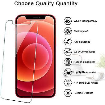 HaiFei 3 Stck Schutzfolie Kompatibel Mit iPhone 12 und iPhone 12 Pro 6.1Zoll Displayschutzfolie