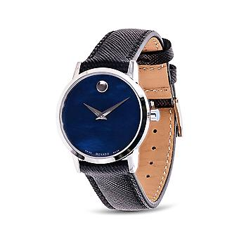 Movado Museum Classic Leather Ladies Watch 060742