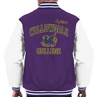 Pixar Onward Willowdale College Men's Varsity Jacket