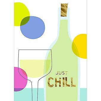 Hallmark Studio Ink - Just Chill Card