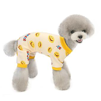 Autumn and winter dog clothes cute home clothes pet clothes
