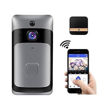 Smart Home WiFi Türklingel 1080P HD-Überwachungskamera mit Zwei-Wege-Audio