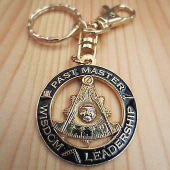 Vergangene Meister Weisheit Führung Masonic Schlüsselanhänger
