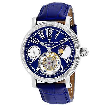 Christian Van Sant Men's Tourbillon X Limited Edition Blue Dial Watch - CV0996
